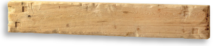 Large Fascia Beam Aged Oak Natural Waxed Finish with Indents