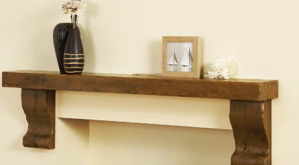 Larg Shelf with Corbels
